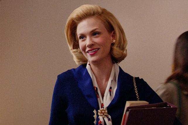 January Jones (Betty Francis).