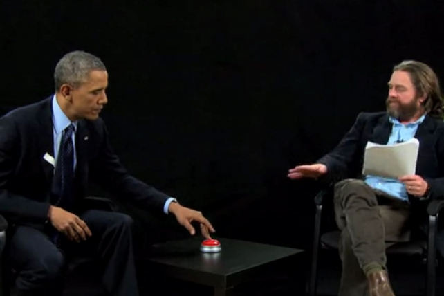Obama's 'Between Two Ferns' Episode Wins Best of Show at the One Show