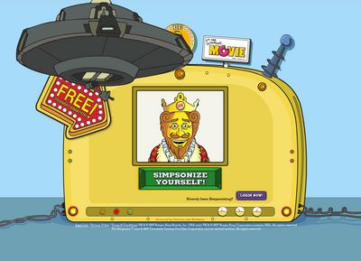 PICK OF THE WEEK: Burger King: Simpsonize Me