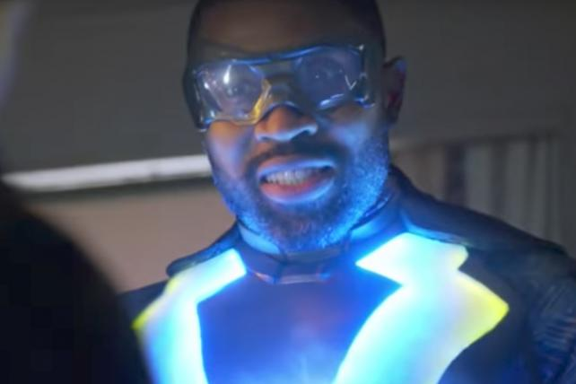 'Black Lightning,' the latest DC superhero show to arrive on the youth-oriented CW broadcast network.