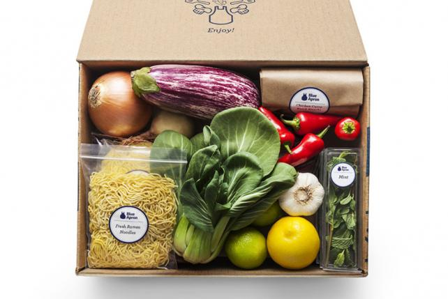 Struggling Blue Apron orders a new creative agency