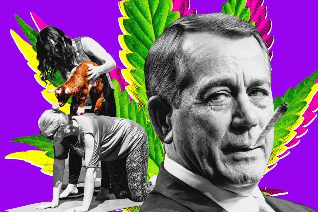 John Boehner, doobies and goat yoga: Welcome to SXSW 2019