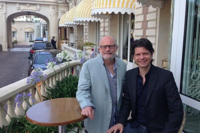 Gordon Bowen and Carlos Domingos