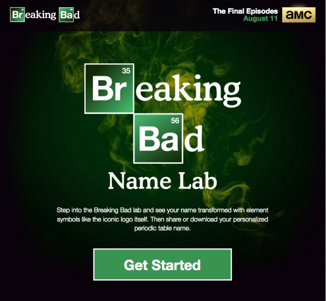 Turn your name into the breaking bad logo cat creativity and turn your name into the breaking bad logo cat creativity and technology ad age urtaz Image collections