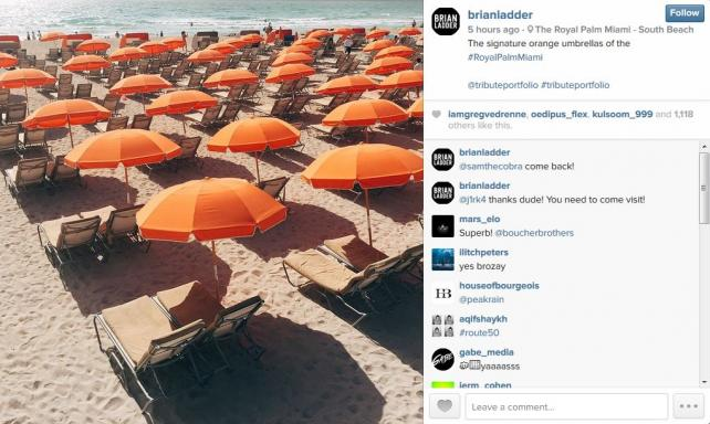 Starwood sponsored Instagram photographer brianladder for their Tribute social campaign.