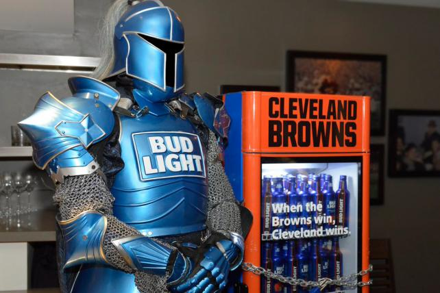 Bud Light unlocks coolers full of free beer around Cleveland as Browns win first game since 2016
