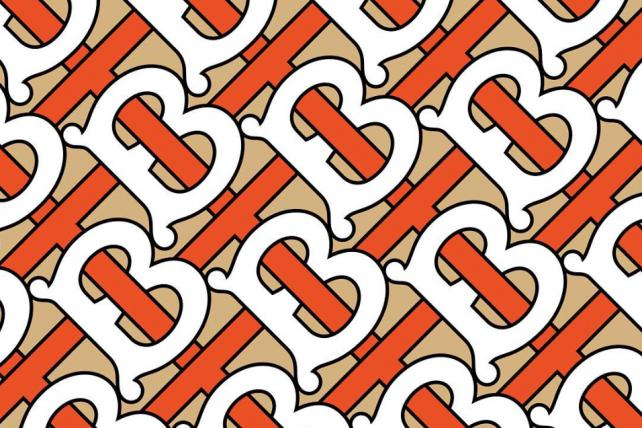 The Thomas Burberry monogram.