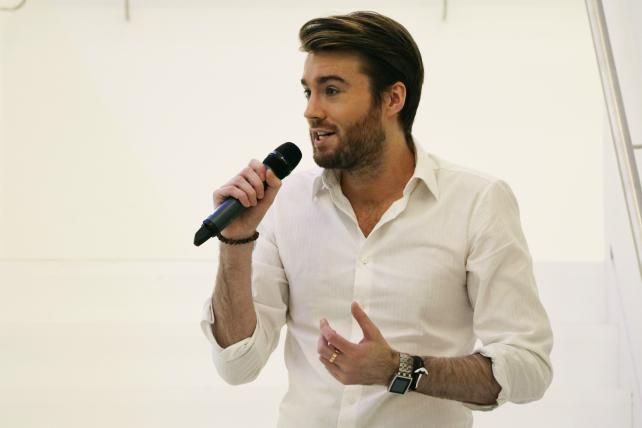 Mashable founder and CEO Pete Cashmore