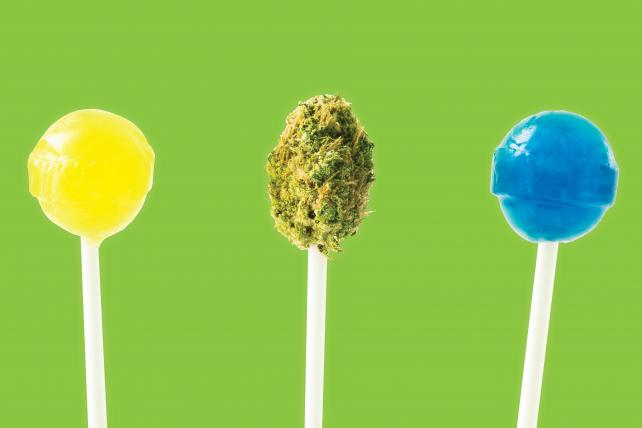 CBD brands see high potential in half-baked category