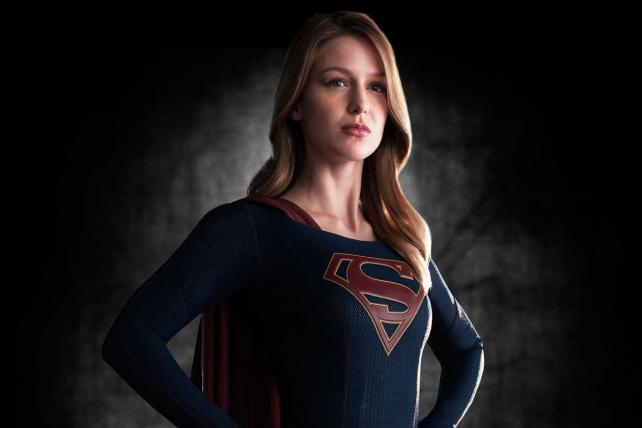 Melissa Benoist as 'Supergirl,' coming to CBS this season.