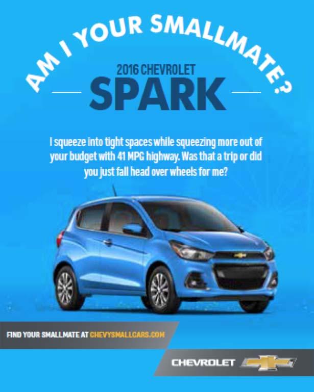 Chevy Changes Small Car Marketing Tactics | CMO Strategy ... | 615 x 769 jpeg 72kB