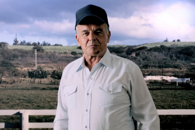 Ray Wise in 'Farmed and Dangerous'