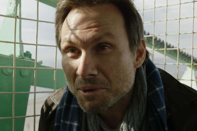 Christian Slater in USA's 'Mr. Robot.'