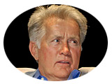 Photos of Panelist Martin Sheen and the Jury Room
