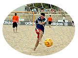 Photos From the 'Cannes Cup' Beach Soccer Games