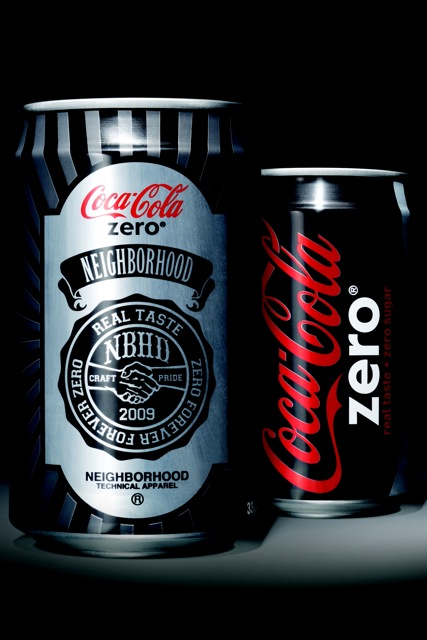 Street Cred From Hip Harajuku Brand Rubs Off on Coke Zero