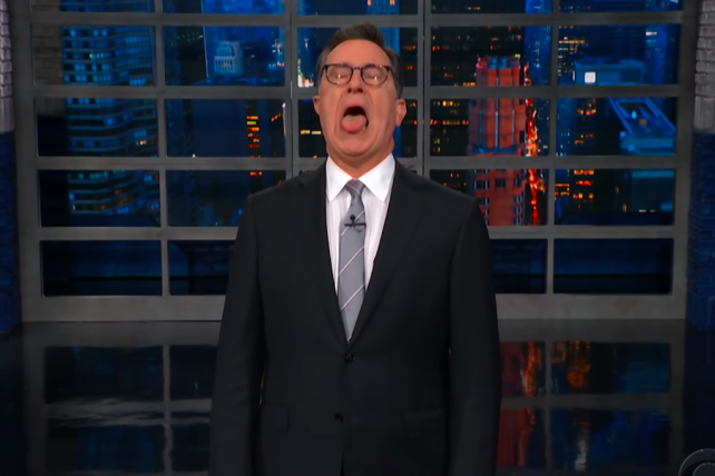 'Dilly dilly, wassup!': Watch Colbert parse Kavanaugh's angry, beer-obsessed testimony