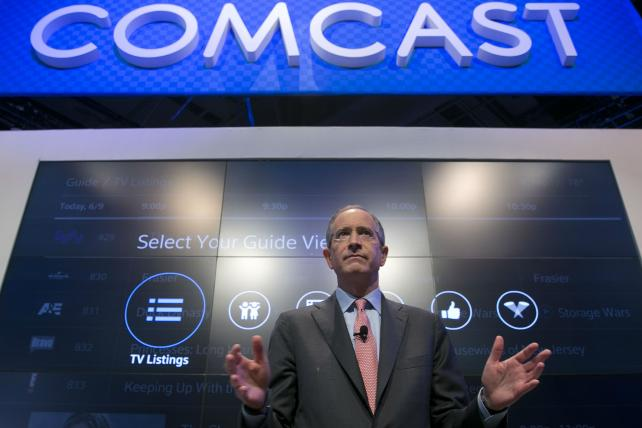 Brian Roberts, chairman-CEO of Comcast Corp.