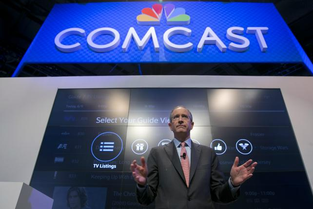 Comcast Chairman-CEO Brian Roberts.