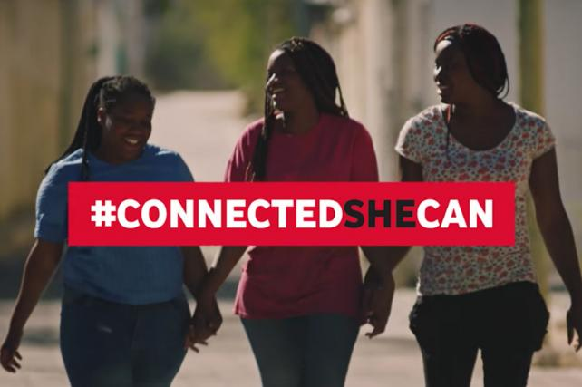 #ConnectedSheCan Video Goes Viral for International Women's Day