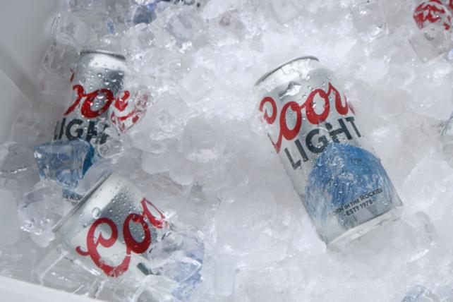 Coors Light revives 'cold' marketing to overcome slump
