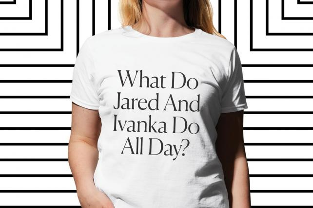 New York Mag's The Cut turns viral headlines into crazy good T-shirts