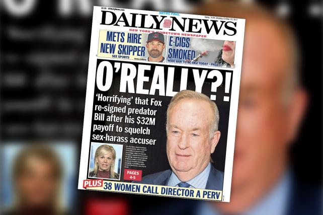 Media about media about media: The New York Daily News cites CNN, which cites the Times.