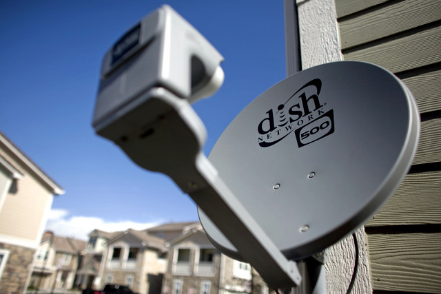 A Dish Network Corp. receiver in Parker, Colo.