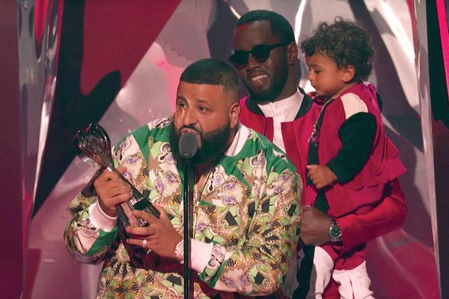 DJ Khaled with P Diddy at the iHeartRadio Awards