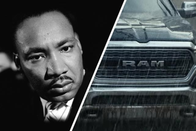 Ram Backlash: What MLK Really Said About Advertising