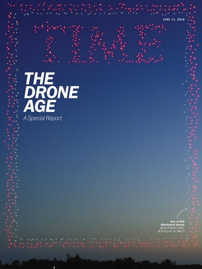Time's 'The Drone Age' cover.