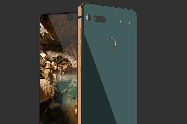 The new phone from Essential, a company founded by the creator of Google's Android mobile operating system.