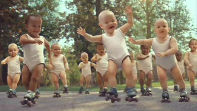 Rate the Ad: Evian: Skating Babies