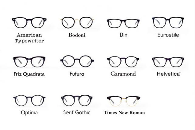 The Story Behind Wieden & Kennedy's Typeface-Themed Eyeglasses