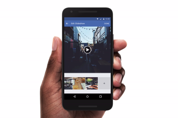 Facebook Is Letting Brands Build Slideshow Ads Right From Their Mobile Phones