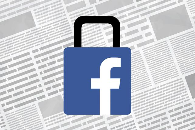 News groups ask Facebook to stop treating media ads like political ads