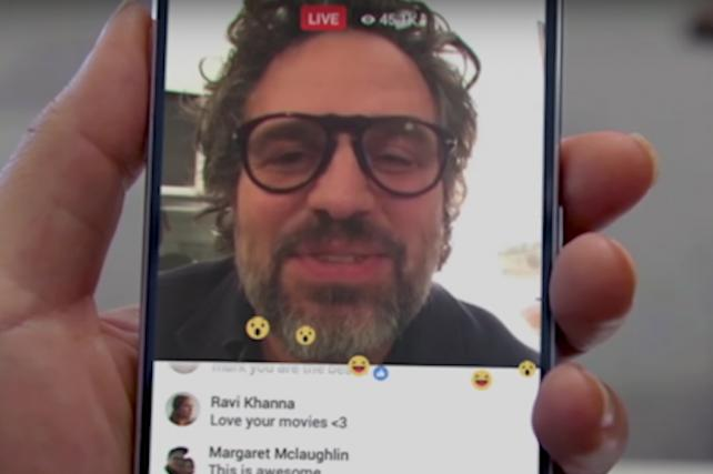 Just the Promo Video for Facebook Live Has 10 Million Views Already
