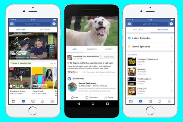 Facebook Watch is growing but still dwarfed by YouTube