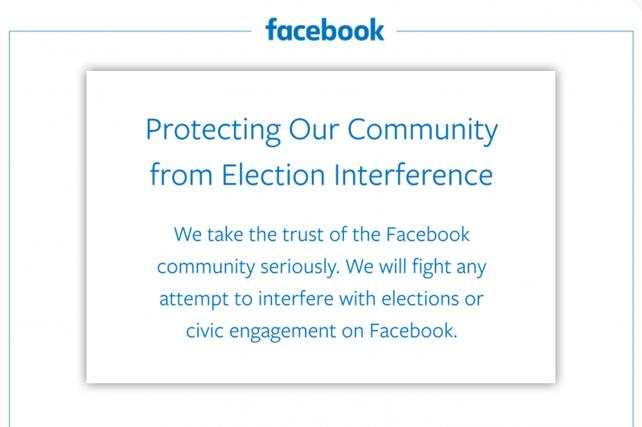 The top portion of Facebook's Oct. 4, 2017 New York Times ad.