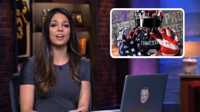 Katie Nolan on Fox Sports 1's 'Crowd Goes Wild.'