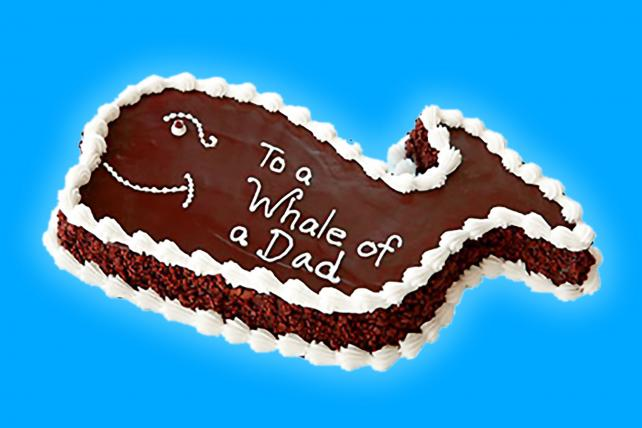 Fudgie the Whale celebrates its 40th Father's Day this weekend.