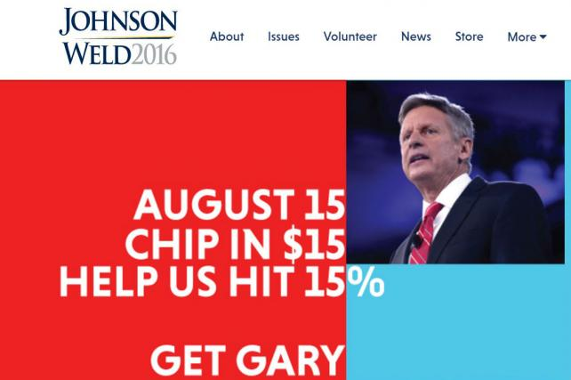 Agency Says Libertarian Candidate Gary Johnson Stole Its Brand Concept