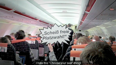 Germanwings Organizes a 'Plane-Mob'