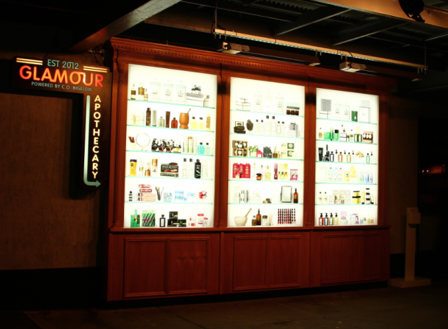 Glamour's virtual shop