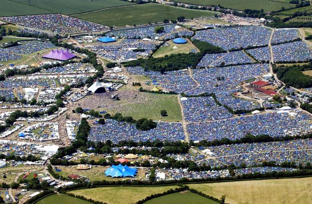 Keeping fans online during the Glastonbury festival is a massive challenge.