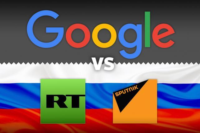 Google's Search Tweaks Target Russian Sites RT and Sputnik