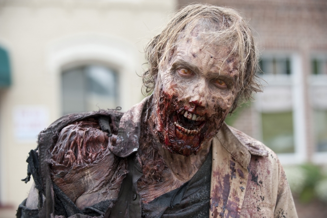 An undead Greg Nicotero would not break the rotten mouth rule.