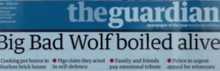 For U.K.'s Guardian, What's Next After 'Three Little Pigs'?