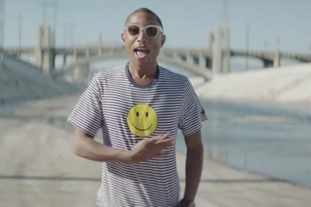 Pharrell's 24-Hour 'Happy' Video, Chipotle's 'The Scarecrow' and Volvo's 'Live Tests' Take Cyber Grand Prix at Cannes