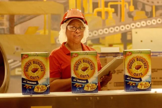 Honey Bunches of Oats' retired worker returns in new spot